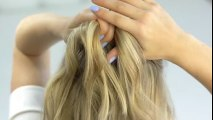 How To Short/Medium Hairstyle - MESSY FAUX HAWK DUTCH BRAID TUTORIAL | Milabu