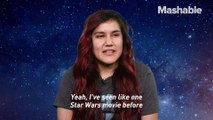 If you've never seen 'Star Wars' before, you're not alone