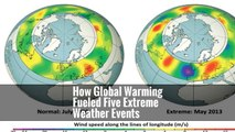How Global Warming Fueled Five Extreme Weather Events