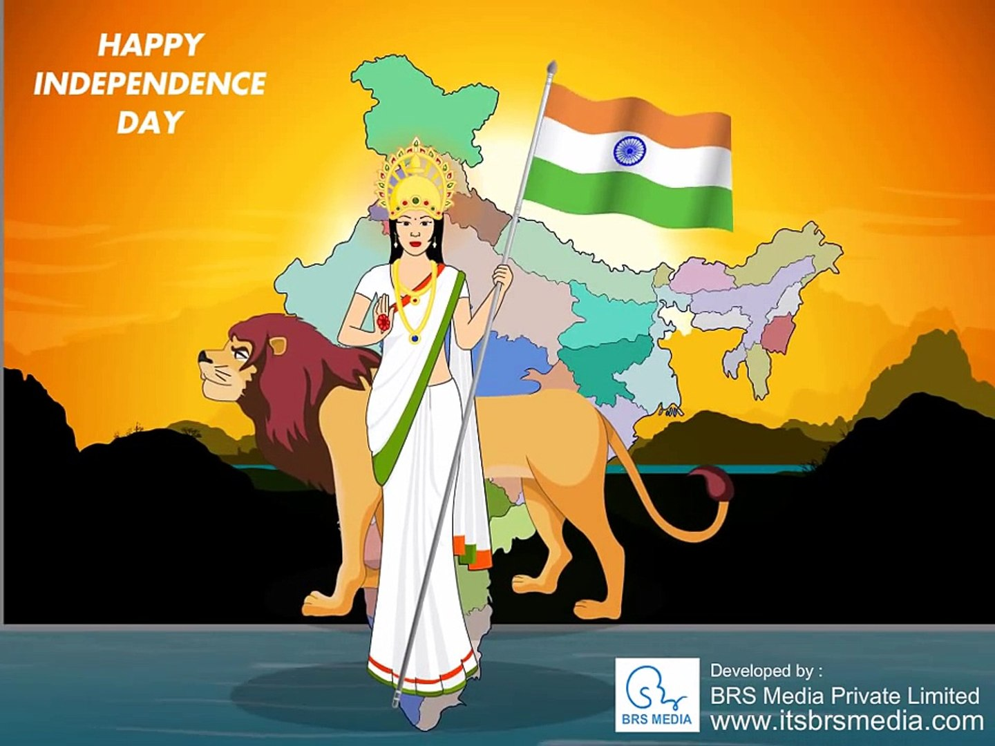 Patriotic Songs Independence Day Animation Video Dailymotion