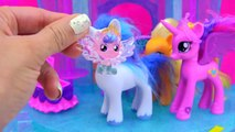 My Little Pony Crystal Empire Castle with Baby Flurry Heart, Princess Cadance, Shining Armor-_a3NBMQsGL8
