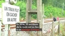 Passages à niveau : de nombreux accidents