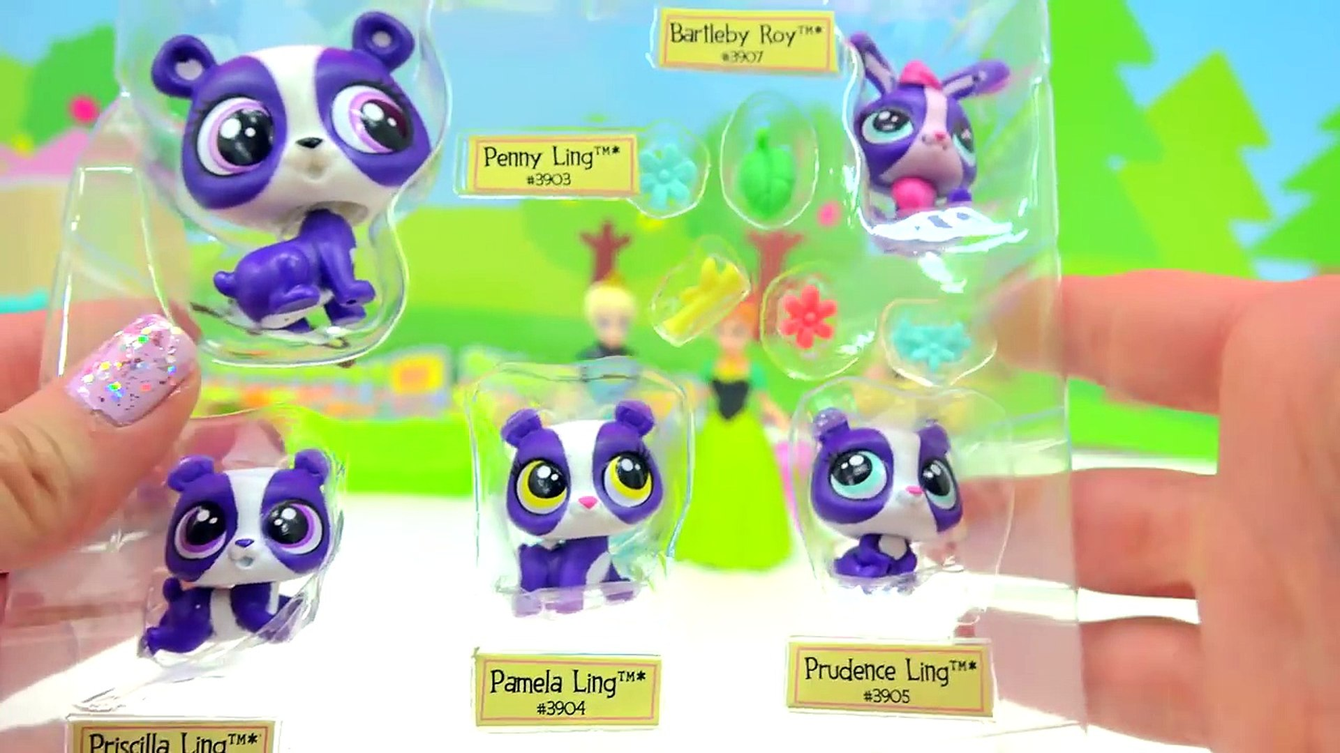 Mom and Babies Surprise Families Littlest Pet Shop Playset - Cookieswirlc LPS Video-WoETIagVtrM