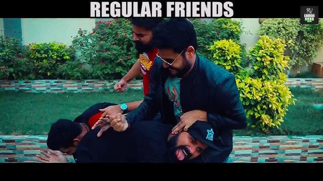 REGULAR FRIENDS vs TERHAY FRIENDS (Best Friends)  Karachi Vynz Official