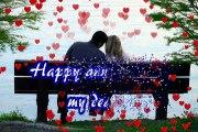 Happy Wedding Anniversary Whatsapp 3D Video,Happy Anniversary  3D wallpapers