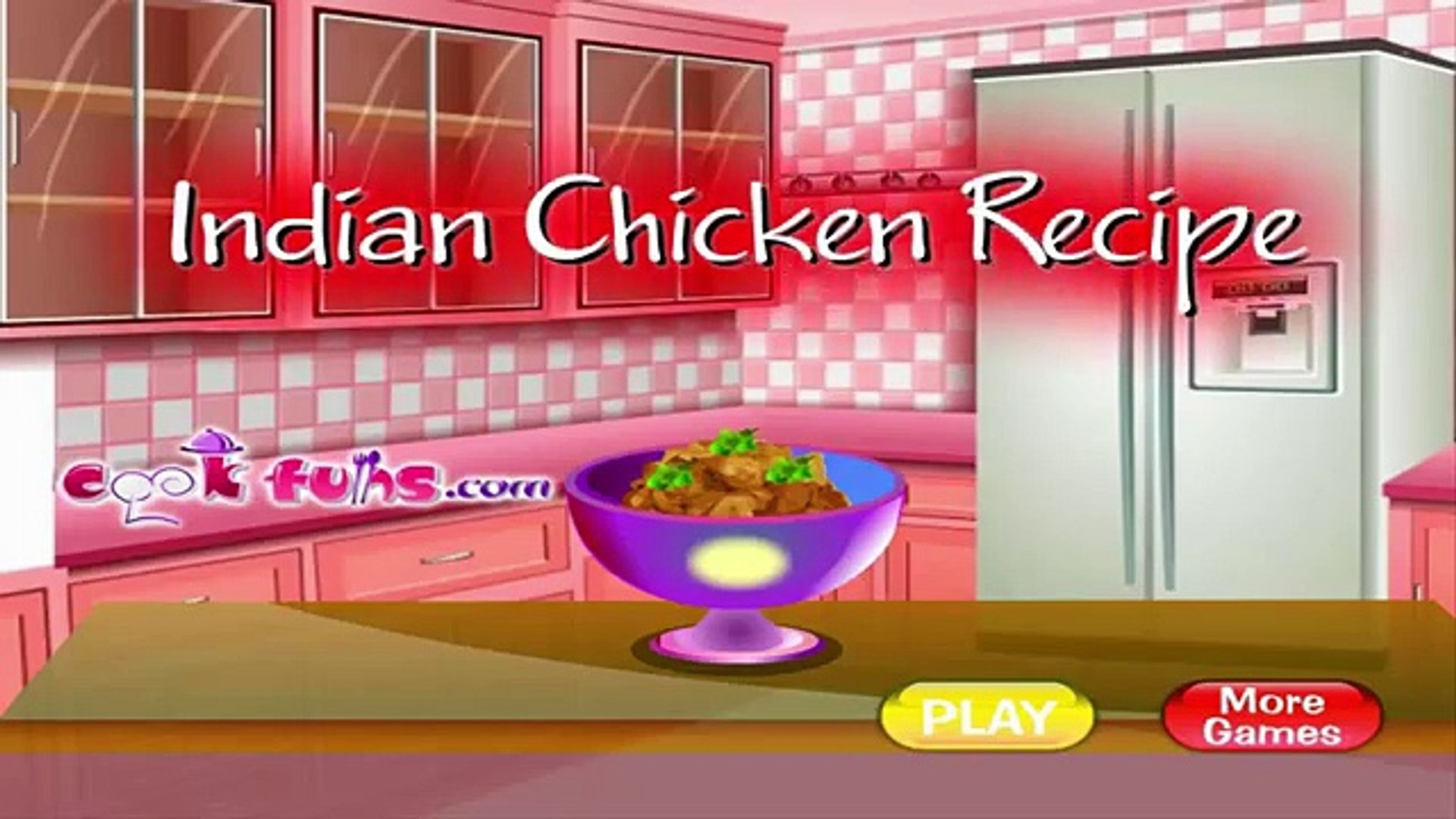 Cooking games for girls online - Free online games for girls - Indian Chicken Recipe
