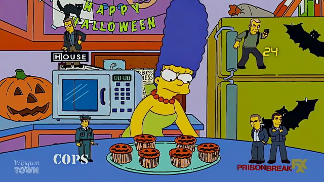 The Simpsons. Who is the killer in the family