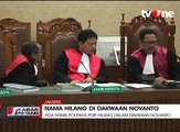 3 Nama Politikus PDIP Hilang Dalam Dakwaan Novanto