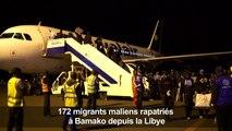 Des migrants maliens rapatriés depuis la Libye