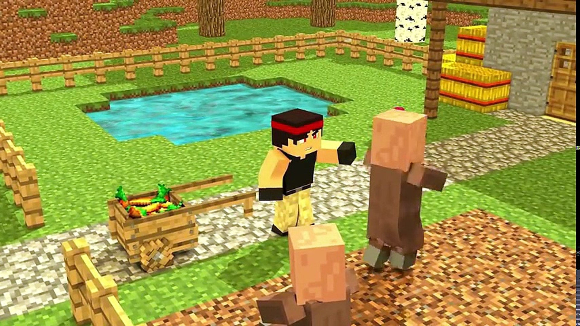 Villager Life / Witch Life / Steve Life - Top Minecraft Animations