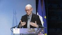 4e Forum Horizon 2020 - Pascal Lamy - président émérite de l'Institut Jacques Delors, président du groupe de haut niveau sur l'optimisation de l'impact des programmes européens de recherche et d'innovation