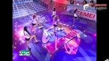 """Zap sexy: Gigi Hadid égérie d'une marque de sport, Hailey Baldwin torride pour """"Love Magazine"""", concours de tee-shirts mouillés (vidéo)"""