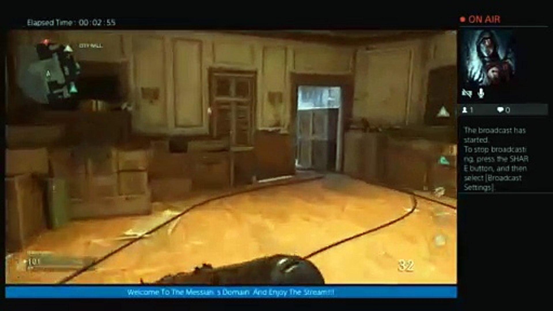 COD WW2  Multiplayer Live w/Wifey (36)
