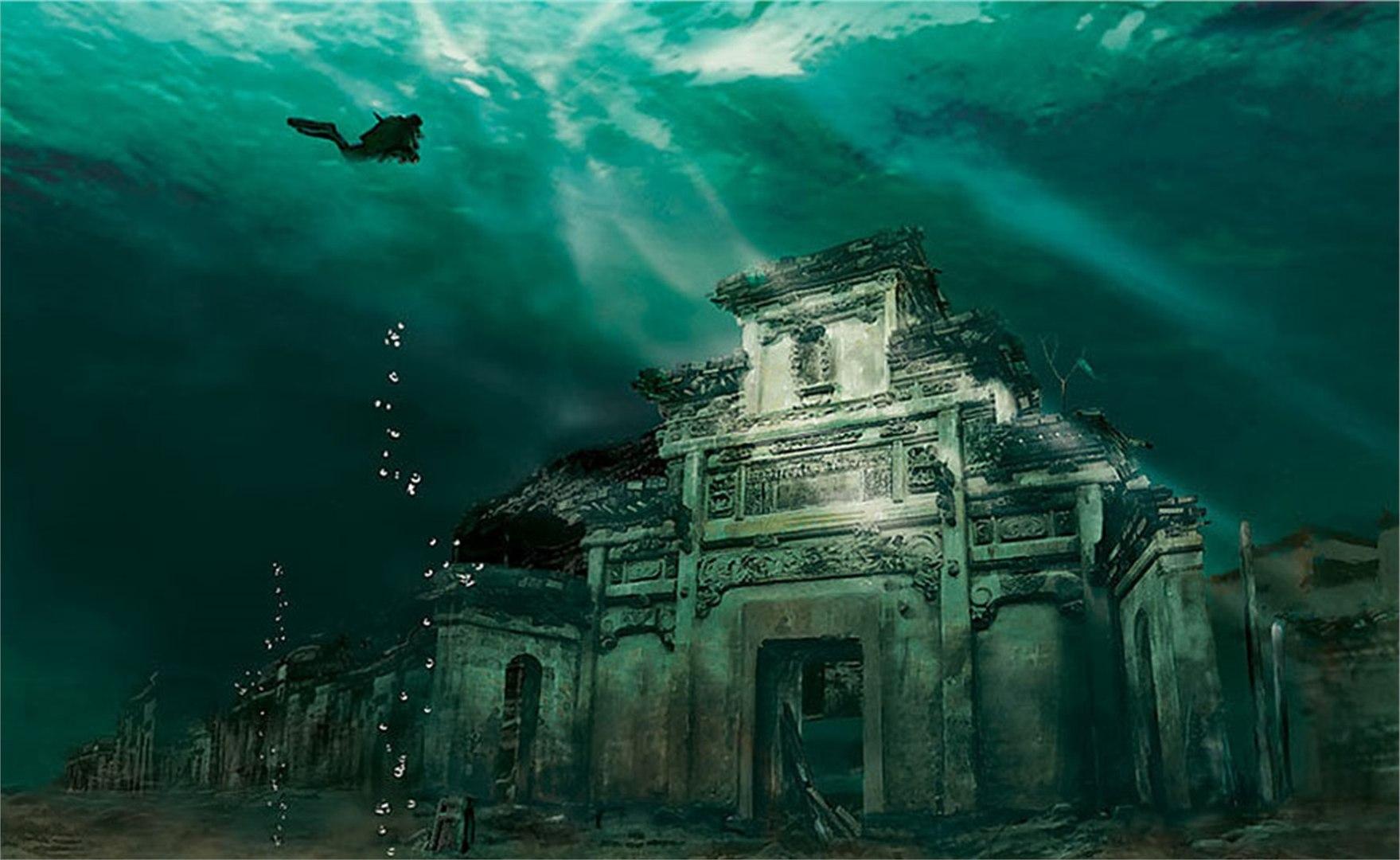 Image result for sunken city of dwarka