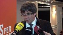 Puigdemont diu que si el parlament el ratifica exercirà de president en la condició que es trobi