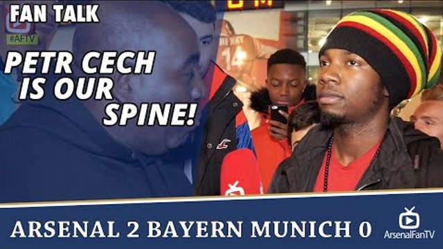 Petr Cech Is Our Spine! (Lumos) | Arsenal 2 Bayern Munich 0