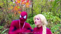 Frozen Elsa & Spiderman vs Maleficent SLEEPING POTION w Joker Rapunzel Fun Superhero in real | Superheroes | Spiderman | Superman | Frozen Elsa | Joker