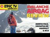 EpicTV Gear Geek: Avalanche Airbag Review for Backcountry Skiing and Snowboarding