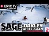 Linecatcher 2013: Sage Cattabriga-Alosa and Oakley White Allen, Soul Shredders