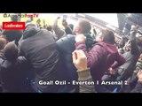 Arsenal Fans Loving It At Goodison!   Everton 2-5 Arsenal Stadium Cam
