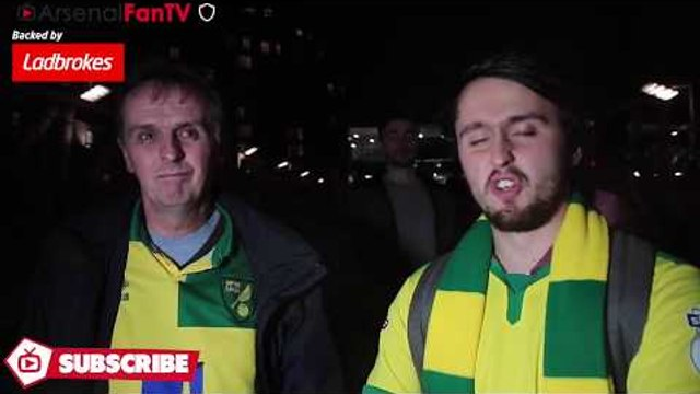 Norwich Fans Feel Robbed By The Ref! | Arsenal 2-1 Norwich City