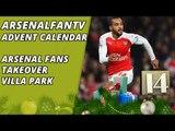 Arsenal Fans Takeover Villa Park | Advent Calendar 14