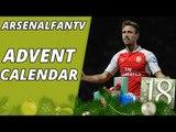 Arsenal Fans Take Over Old Trafford - Advent Calendar 18