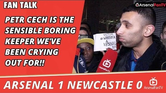 Petr Cech Is The Sensible Boring Keeper We've Been Crying Out For!! | Arsenal 1 Newcastle 0