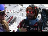FWT Verbier Extreme 2013: skier Seb Michaud interview