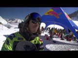 FWT Fieberbrunn 2013 - Men's Snowboard Winner Sammy Luebke