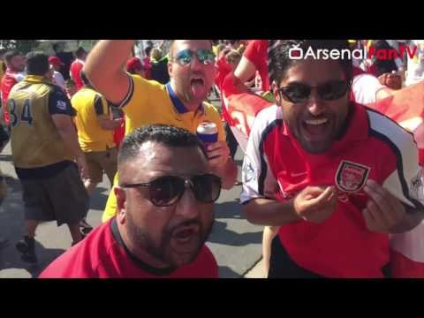 Arsenal's Awesome Support In The USA! (ft Arsenal Players)  | AFTV Vlog Day 6