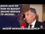 David Dein On How He Brought Arsene Wenger To Arsenal | Arsene Wenger Book Launch
