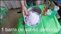 Como Fazer Vanish Caseiro para Tirar Manchas de Roupas receita exclusiva Nina Della Rosa