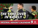 Stadium Takeover | Basel 1 Arsenal 4 | Arsenal Advent Calendar 9