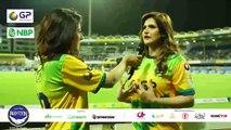 Pakhtoons vs Team Sri Lanka Cricket -- Zareen Khan Supporting Pakhtoons -- T10 League