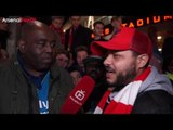Arsenal 5 Lincoln 0 | We Only Protest Because The Club Don't Listen says Troopz