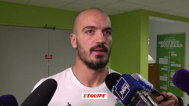 Foot - L1 - Saint-Etienne : Moulin «Ce n'est pas de la peur, c'est de l'impuissance...»