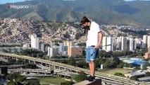 Fotógrafo venezolano desafía las alturas para sentirse vivo
