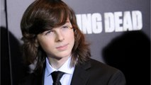 'The Walking Dead's Chandler Riggs Wants To Tell His Story On Jimmy Kimmel Live