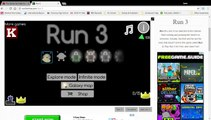 GOING GREEN! (Plus SKATING IN THE WINTER GAMES!) - Playing Several More Levels of Run 3 - Run 3 Gameplay