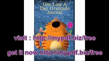 One Line A Day Gratitude Journal 5 Years Of Memories, Blank Date No Month, 6 x 9, 365 Lined Pages