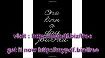 One Line A Day Journal 5 Years Of Memories, Blank Date No Month, 6 x 9, 365 Lined Pages