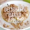 Delightfully Baked Apples