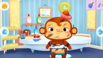 Fun Animals Care Kids Game - Play Dr. Panda Bath Time Clean Up -  Animals Bathroom-_yCuvh6WfeY