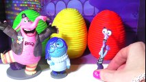 INSIDE OUT Surprise Eggs Play-Doh Kids Toys. Joy, Sadness, Disgust, Fear, Anger 5 EMOTION FIGURES - YouTube