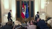 Autriche: accord de gouvernement entre droite et extrême-droite