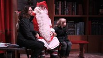 Neve e magia accolgono i visitatori di Babbo Natale in Lapponia