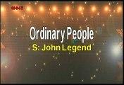 John Legend Ordinary People Karaoke Version