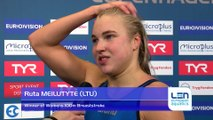 European Short Course Swimming Championships Copenhagen 2017 - Ruta MEILUTYTE Winner of Womens 100m Breaststroke