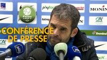 Conférence de presse Châteauroux - US Orléans (0-0) : Jean-Luc VASSEUR (LBC) - Didier OLLE-NICOLLE (USO) - 2017/2018